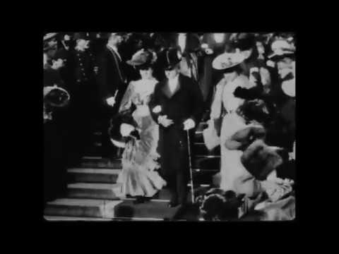 Marcel Proust rare footage, 1904