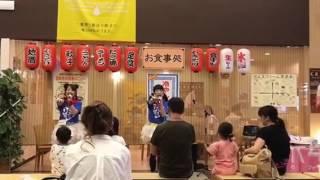 OFR48のさーや&まりんご、栃木県に凱旋ライブ╰(*´︶`*)
