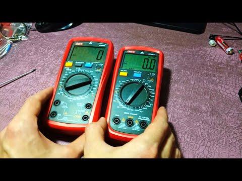 UT890C и UT39C+. Обзор мультиметров UNI-T.