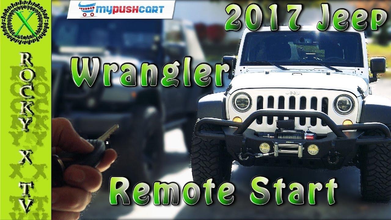 how to install a remote starter 2007 2017 jeep jk jku wrangler  [ 1280 x 720 Pixel ]