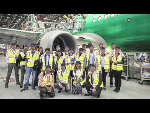Boeing Factory visit