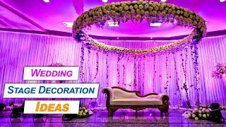 Awesome Indian Wedding Stage Decoration Ideas   Fashionista   Tbg Bridal Store