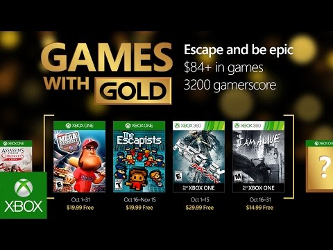 Xbox - October Games with Gold