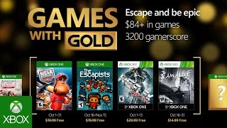 Xbox   October Games With Gold