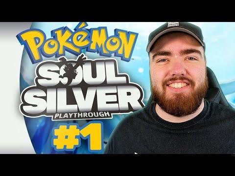 Randolph Plays Pokémon SOUL SILVER (Episode #1)
