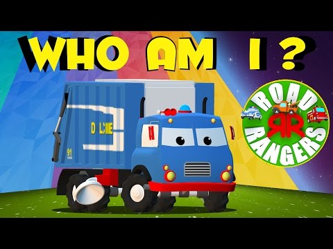 road rangers | Frank, who am I? | kids show | children cartoon | preschool shows