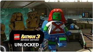 LEGO Batman 3: Beyond Gotham - How to Unlock Miss Martian + Review