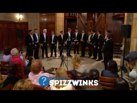 2016 Yale Family Weekend Concert by The Yale Spizzwinks(?)