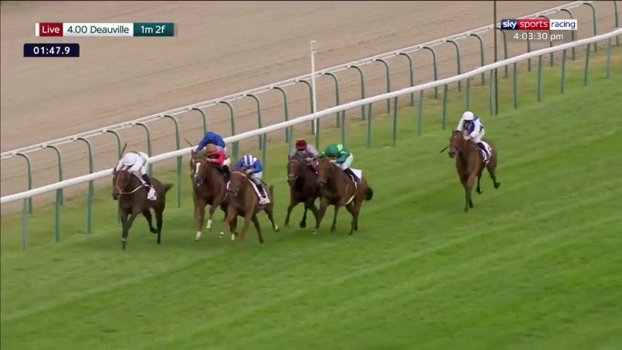 Arc contender? Raabihah bolts up in the Group 3 Prix de Psyché Sky Sports Racing
