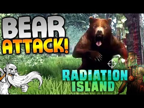 "Radiation Island Gameplay - ""ATTACKED BY A SWARM OF BEARS!!!"" Walkthrough Let's Play"