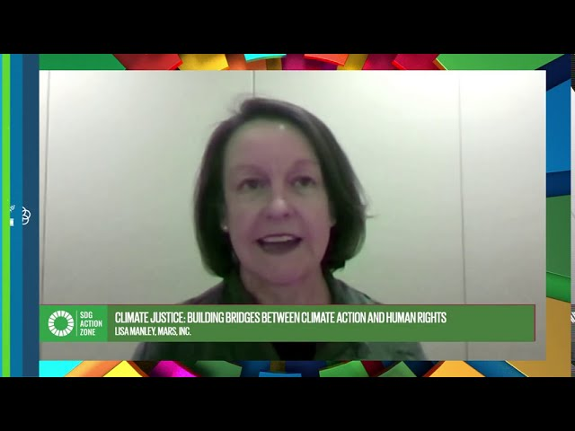 Lisa Manley talks about building bridges between climate action & human rights