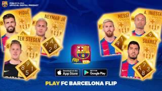 Fc barcelona flip - official game