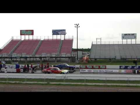 NHRA Stock Eliminator- Nolan Grier vs. Kevin Helms