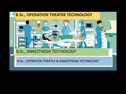 B.Sc., OPERATION THEATRE AND ANAESTHESIA TECHNOLOGY//COURSE//SYLLABUS//ROLE//JOBS//IN TAMIL