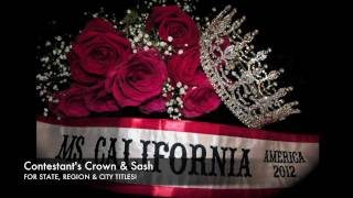 Contestant's Crown ~ Ms. America Pageant