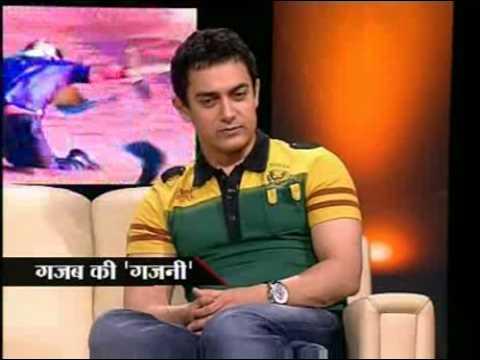 ghajini-aamir and asin talks