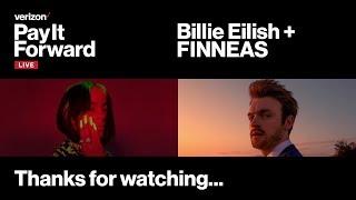 Baixar Billie Eilish and Finneas   TONIGHT Live Concert