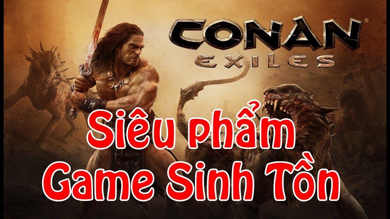 Cách tải và cài đặt Conan Exiles   Siêu Phẩm Sinh Tồn