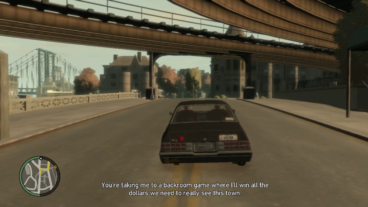Grand Theft Auto IV Mission #2 Its Your Call