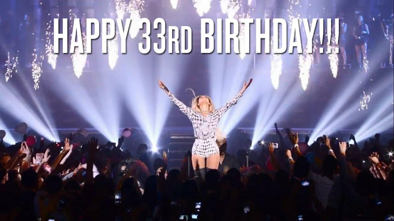 Happy 33rd Birthday Beyoncé (from Venezuela) - YouTube