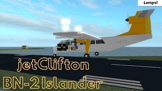ROBLOX | jetClifton BN-2 Islander Flight