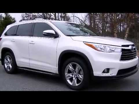 2015 toyota highlander awd limited platinum v6 youtube. Black Bedroom Furniture Sets. Home Design Ideas
