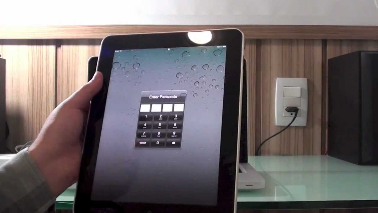 Forgotten password ipad air 2
