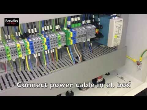How To   Power wire main unit
