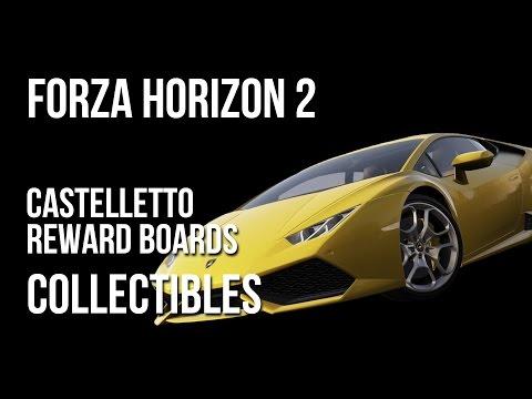 Forza Horizon 2 Castelletto Reward Boards Collectibles Locations Guide
