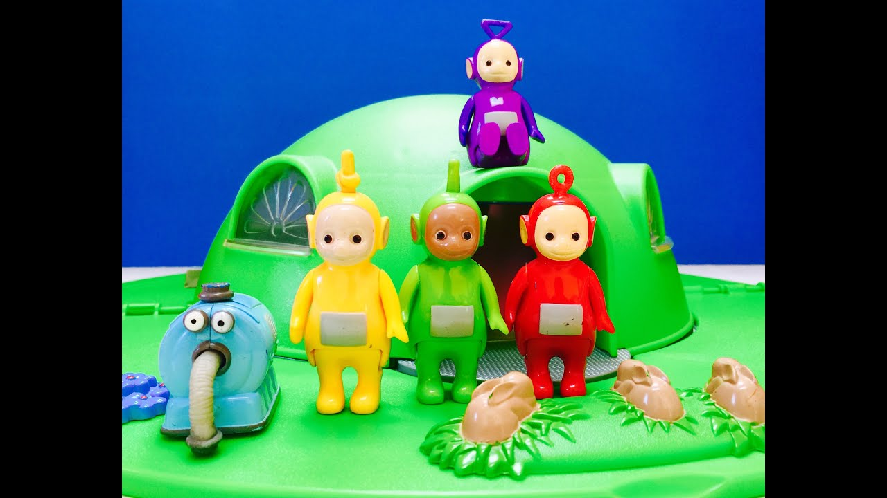 Teletubbies Tinky Winky On Tubbytronic Superdome House Toy