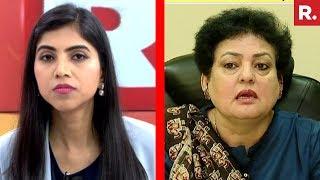 NCW Chief Rekha Sharma Speaks To Republic TV | #BishopThreatTape