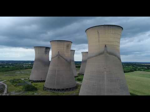 Willington Power station cooling towers