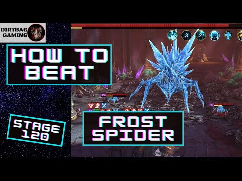 HOW TO BEAT STAGE 120 NORMAL | Frost Spider Final Boss | Doom Tower FINAL BOSS | Raid Shadow Legends