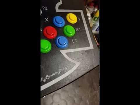 coinops-8-premium-massive-xbox-prima-serie-con-soft-mod,-xbox-original-arcade-cabinet,-bartop