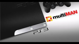 PS3 Hacks!! CEX CFW! MultiMAN 4.82 Backup Manager (StealthMAN Install)