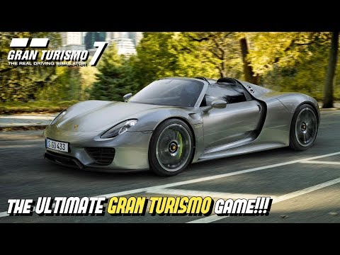 My recipe for the ULTIMATE GRAN TURISMO game!!! thumbnail