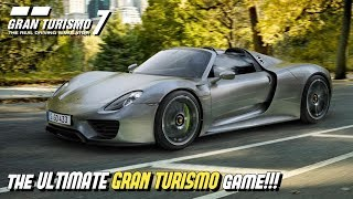 My recipe for the ULTIMATE GRAN TURISMO game!!!