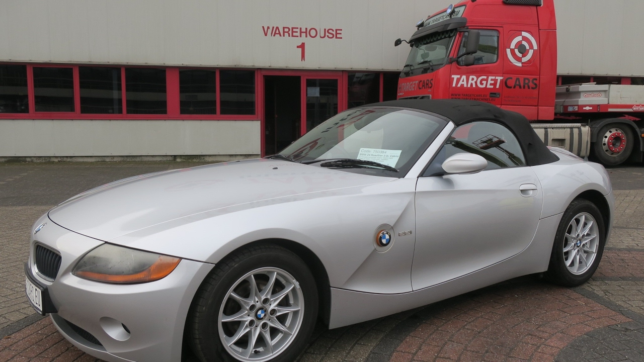 750384 Bmw Z4 Roadster 2 2l E85 Cabrio 170hp 03
