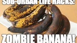 Life Hack Zombie Banana!
