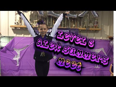 alex summers invitational gymnastics meet