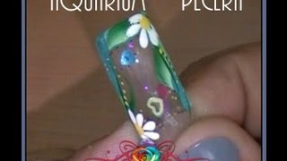 Water Nails with NARRATION Aquarium :::.. ☆ Jennifer Perez of Mystic Nails