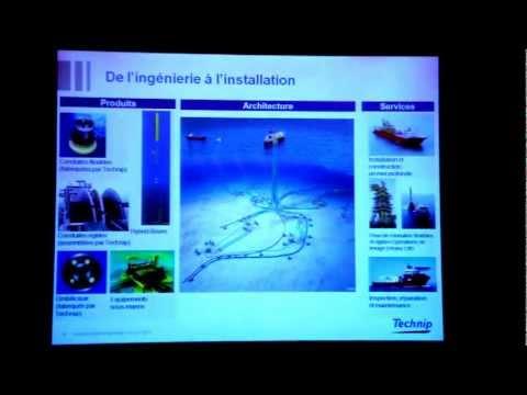 """Conférence de Thierry Pilenko """"Les nouvelles frontières de l'offshore"""""""