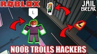 BACON HAIR ARRESTS Vehicle Noclip HACKER??? | Roblox Jailbreak Starting Over