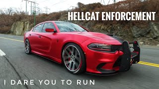 This Dodge Charger Hellcat is your Worst Nightmare