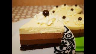 Торт ТРИ ШОКОЛАДА торт рецепт ВКУСНЫЙ НЕЖНЫЙ НЕЗАБЫВАЕМЫЙ торт Готовим с ЛЮБОВЬЮ