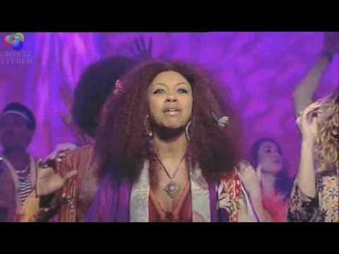 Sasha Allen and The Cast of Hair on Lorraine Kelly