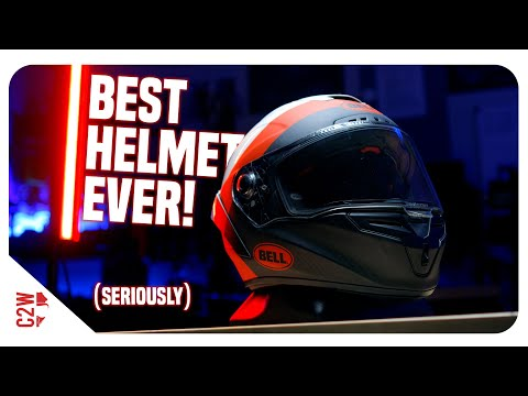 This BELL Helmet Is THE BEST I've Seen!! | Bell Race Star Flex DLX