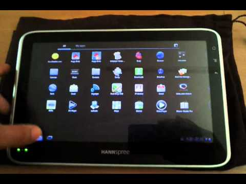 HANNspree HANNSpad Tablet product video review!