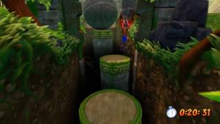 Crash Bandicoot N.Sane Trilogy - Boulder Dash (2-5) Time Trial Platinum Relic