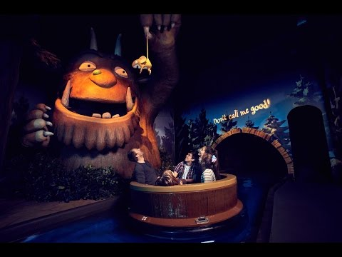The Gruffalo River Ride Adventure On Ride HD 60FPS POV Chessington World Of Adventures